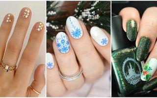 Cele mai frumoase manichiuri pentru Sărbători pe care să le încerci anul acesta. 30 de modele