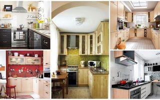 Cum amenajezi o bucătărie mică. 25 de idei deosebite
