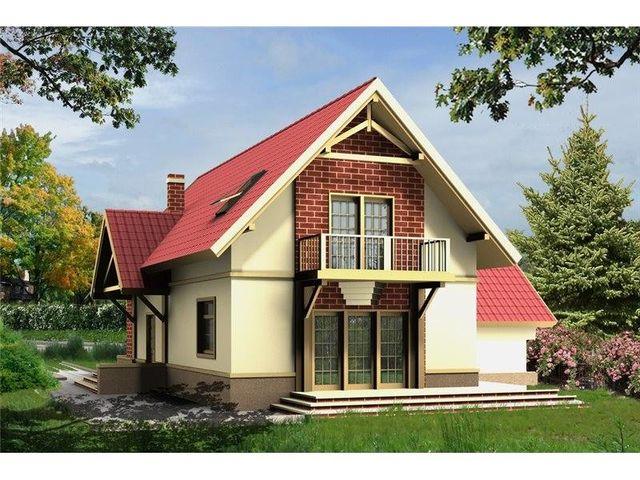Case mansardate cu scară interioară