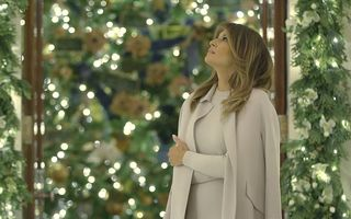 Crăciun la Casa Albă: Ce decorațiuni a pregătit Melania Trump