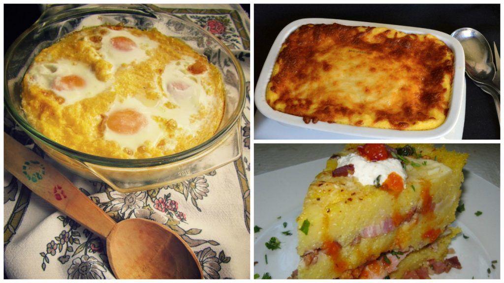 Rețete de mămăligă cu brânză la cuptor. Un deliciu în zilele de iarnă