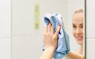 Ce să faci ca să nu se aburească oglinda din baie. Trucul simplu și eficient