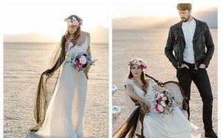 Răzbunarea unei mirese părăsite: S-a căsătorit singură și a plătit un bărbat ca să apară cu ea în poze
