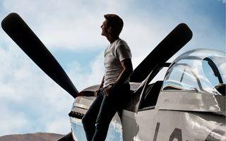 """Cel mai cuceritor pilot de aviație: Tom Cruise, din nou la înălțime, la filmările pentru """"Top Gun: Maverick"""""""
