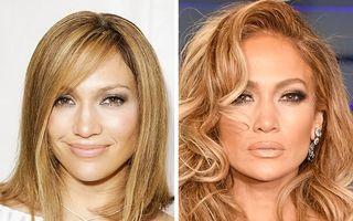 22 de vedete care arată mereu bine: Jennifer Lopez e neschimbată după 14 ani
