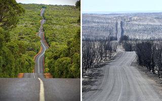 Iadul pe Pământ: 14 locuri din Australia, înainte și după incendiile catastrofale