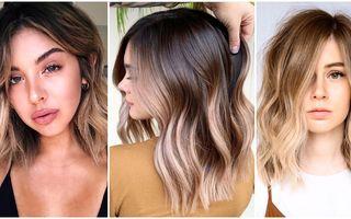 Stilul ombre pentru părul scurt și mediu. 25 de idei