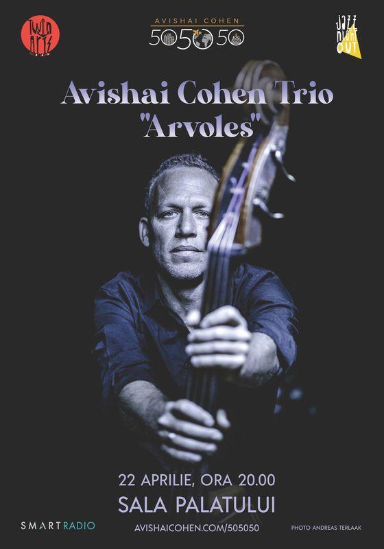 Un nou concert Avishai Cohen la București. Contrabasistul israelian revine în România după cinci ani!