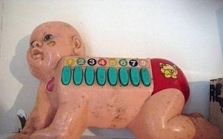 12 jucării odioase care îi sperie pe copii