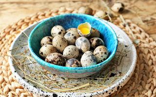 5 tratamente naturiste cu ouă de prepeliță