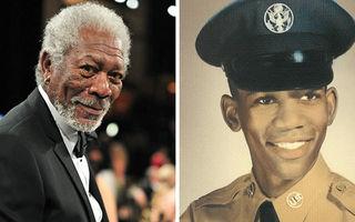 Cum arătau 30 de vedete în tinerețe: Morgan Freeman, așa cum nu l-ai mai văzut