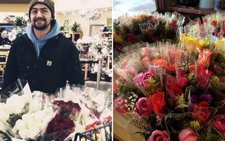 Cel mai drăguț bărbat: De Valentine's Day, le oferă trandafiri văduvelor și soțiilor soldaților