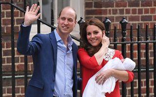 """Kate Middleton a declarat că a fost """"înspăimântător"""" să apară în fața maternității imediat după nașterea prințului George"""