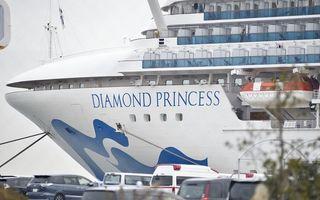 Al doilea român infectat cu coronavirus: Situația de pe vasul de croazieră Diamond Princess