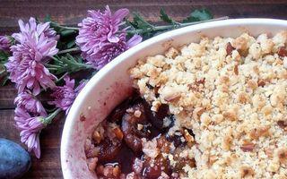 Prăjituri cu prune. 3 rețete simple și delicioase
