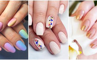 Manichiuri nail art pentru primăvară. 30 de idei
