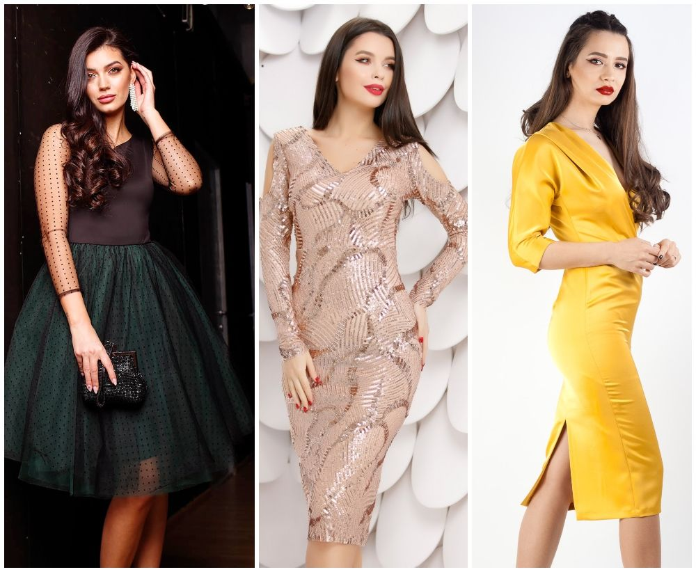 Ce rochii elegante se poarta in 2020. 7 modele sub 300 de lei