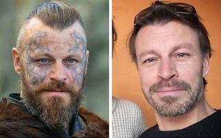"""Cum arată actorii din """"Vikingii"""" în viața reală"""