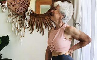 Viața nu se termină la 70 de ani: Transformarea uimitoare a unei pensionare care a renunțat la medicamente și s-a apucat de fitness