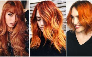 Roșcat teracotă, nuanța de păr în tendințe care a cucerit Instagram-ul. 20 de idei din care să te inspiri