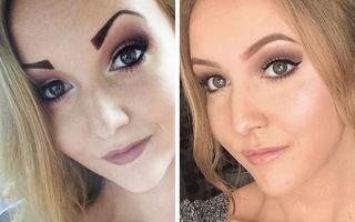 Detaliul care schimbă tot: 20 de femei care și-au corectat forma sprâncenelor, iar acum arată impecabil