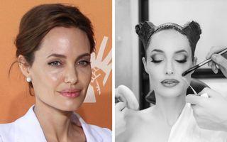 """16 actori pe care machiajul i-a schimbat total: Cum a devenit Angelina Jolie vrăjitoarea din """"Maleficent"""""""
