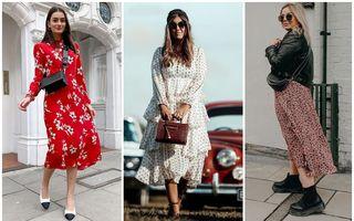Cum să porți rochiile midi în 2020. 30 de ținute din care să te inspiri