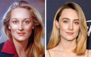 11 vedete care seamănă cu imaginile din tinerețe ale altor staruri