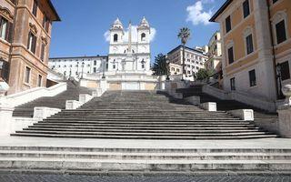 Roma, orașul fantomă: Cum a schimbat coronavirusul Cetatea Eternă
