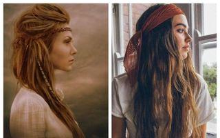 Coafurile hippie nu se demodează niciodată! Iată 14 stiluri pe care să le porţi în 2020