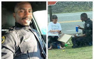 Polițistul pe care oricine și l-ar dori în orașul său: Gestul neobișnuit prin care a cucerit respectul tuturor