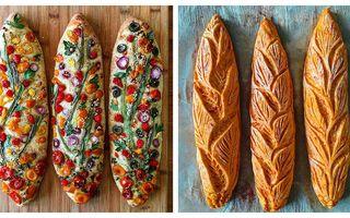Minunile unei brutărițe: 30 de modele de pâine care au cucerit lumea