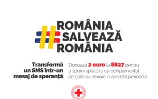 Crucea Roșie: Donează 2 euro la 8827 pentru lupta împotriva COVID-19