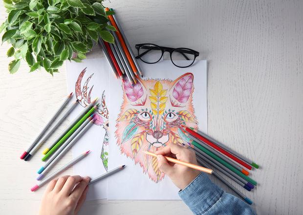 30 de planșe de colorat pentru adulți pe care le poți printa. Te scapă de stres!
