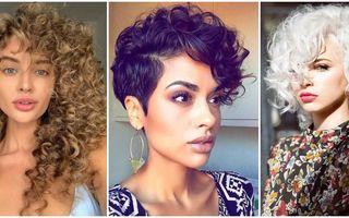 Cele mai frumoase 30 de tunsori pentru părul creț