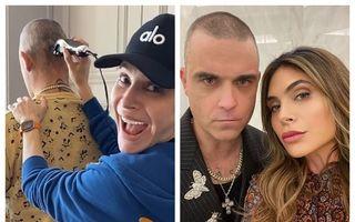 Soluția lui Robbie Williams pentru un look perfect în carantină: Îl tunde soția