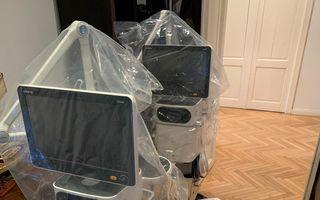 #VeștiBune: Două ventilatoare mobile de înaltă performanță au ajuns la medicii din linia întâi