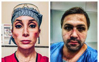 """Noi imagini cu medici epuizați de lupta contra Covid-19: """"Nu cedăm!"""""""