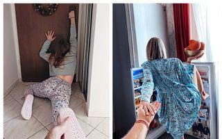 """Proiectul """"Follow Me"""" a intrat în carantină: 35 de imagini amuzante făcute în casă"""