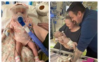 #VeștiBune: Povestea fetiței de 6 luni care a învins noul coronavirus după o operație la inimă