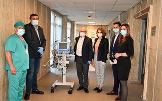 #VeștiBune: Industria reciclării donează trei ventilatoare sistemului de sănătate din România