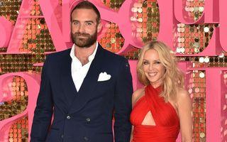 Kylie Minogue, sortită să admire fericirea bărbaților pe care i-a iubit: Fostul ei logodnic a devenit tată