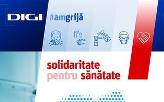 #VeștiBune: Grupul Digi donează echipamente medicale de peste 1,6 milioane de euro