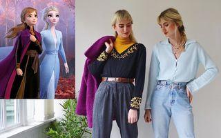 Ținute inspirate de personaje celebre. Două surori le recreează cu ajutorul hainelor vintage