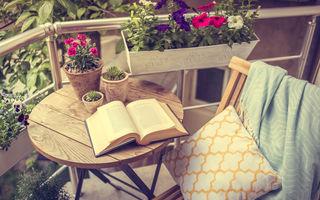 Idei de amenajare pentru balcoane înguste. 30 de imagini din care să te inspiri