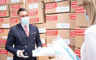 #VeștiBune: Echipamente de protecție și biocide pentru 30 de spitale din România. Ilie Dumitrescu, ambasadorul campaniei Superbet #PariemPeBine