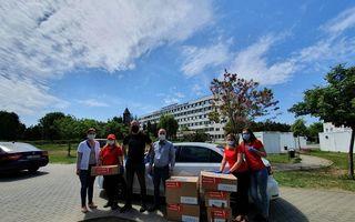 #VeștiBune: Echipamente de protecție și biocide pentru Spitalul Clinic Județean de Urgență Arad. Ioan Parachiv, ambasadorul regional al campaniei Superbet #PariemPeBine