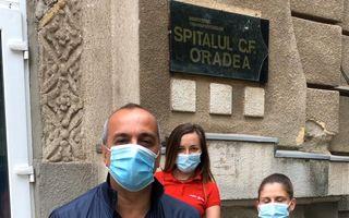 #VeștiBune: Echipamente de protecție și biocide pentru Spitalul Clinic CF Oradea. Șerban Sere, ambasadorul regional al campaniei Superbet #PariemPeBine