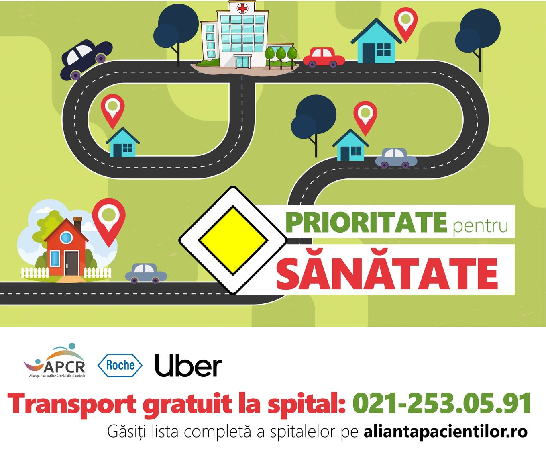 Transport gratuit și în starea de alertă pentru pacienții cronici
