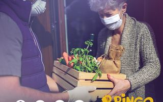Bringo oferă livrare gratuită personalului medical și vârstnicilor